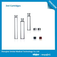 NO Silicide Insulin Pen Cartridge Neutral Borosilicate Glass Material