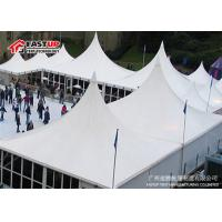 Quality Romantic High Peak Frame Tent , Heavy Duty Gazebo Tents For Festival Rain Proof for sale