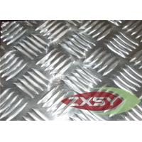 Quality Alloy Diamond Plate Aluminum Anodized For Ceilings , Aluminium Tread Plate for sale
