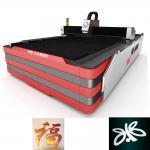 Quality 1000W HE Fiber Laser Cutting Machine , Laser Sheet Metal Cutting Machine for sale