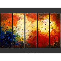Quality art flower art painting hotel room wall decor for sale