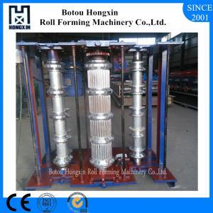 Vertical Metal Roof Panel Machine, 0.3 - 0.8mm Thickness Corrugated Metal Machine