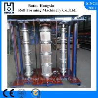 Buy Vertical Metal Roof Panel Machine, 0.3 - 0.8mm Thickness Corrugated Metal Machine at wholesale prices