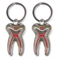 Quality Dental Keychain For Dentist Team Gift Molar Tooth for sale
