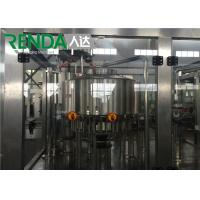 China Automatic Small Water / Drink / Soda Water Bottle Filling Machine 2000 - 20000BPH on sale