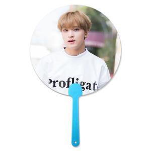Quality 17x17cm Flip 3D Lenticular Hand Fan Korea Star For Kpop Idol for sale