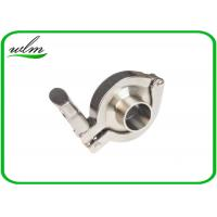 Quality DIN 32676 Sanitary Tri Clamp Fittings Couplings Set For Food Chemical / Pharma Equipments for sale