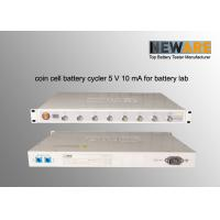 Quality Battery laboratory cycler life tester | Neware Shenzhen China | 8 channels, 0.05% precision for sale