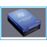 Quality 32 Bit Full Version Windows 7 Professional Retail Box DVD With 1 SATA Cable for sale