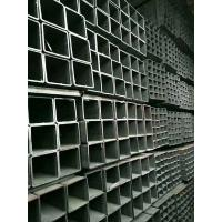 Quality DIN JIS Square Hollow Steel Pipe For Greenhouse Frame / Structure Tube for sale