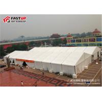 Quality Big Outdoor Exhibition Tent Anodized Aluminum Alloy Frame No Deformation for sale
