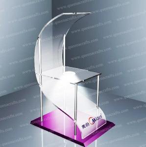 Quality FD (13) fashion acrylic floor display for sale