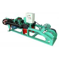 Quality High Speed Barbed Wire Machine Reliable Operation For National Border Lines for sale