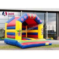 Quality Cartoon Inflatable Bouncy Castle Rental , Outdoor Play Equipment For Toddlers for sale