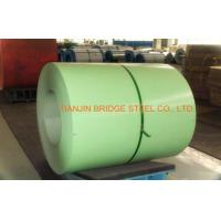 Buy PPGI Color Coated Steel Coil , Hot Dipped Galvanized Steel Coil 0.2-1.2mm Thickness at wholesale prices