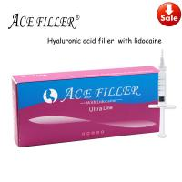 Quality 1ml 2ml 5ml 10ml  Stable anti-aging 100%Pure Hyaluronic Acid Filler for sale