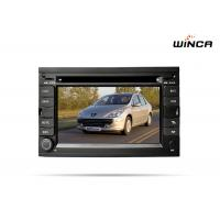 Quality Dash car gps navigation system Factory cheap price  for peugeot 307 car dvd for sale