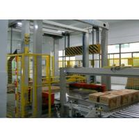 Quality PLC Controlled Automated Palletizer Touch Screen Operation High Automation for sale