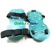 Quality PVC Floor Self Levelling Tools Anti - Slip Safety Spiked Shoes Adjustable Straps for sale