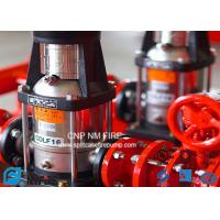 Quality NFPA20 GB6245 Fire Water Jockey Pump  25GPM Fire Fighting System For Building for sale
