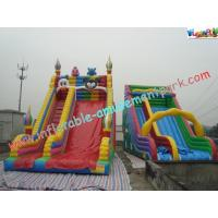China Customized Clown  Rent Inflatable Slide , Inflatable Dry Slides on sale