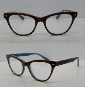 Quality Custom Made Black Full Rim Modern Eyeglass Frames With CE Approve for sale