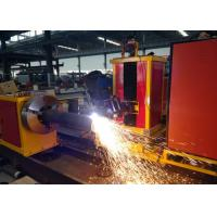 Quality Customized Cutting Length CNC Pipe plasma Cutting Machine  Loading Capacity 2000kgs for sale