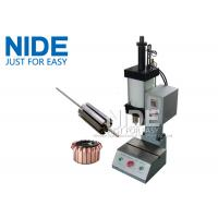 Quality Manually Armature Rotor Commutator fitting Pressing Inserting Machine 5KN for sale