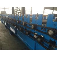 Buy 0.3 - 0.8mm  Pre - Cutting Wave Roof Panel Roll Forming Machine High speed at wholesale prices