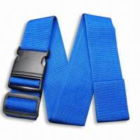 Quality Luggage Strap/Belt, Available in Various Types and Colors, OEM Order are Welcome for sale