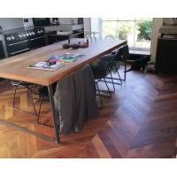 Quality High-end Customized Chevron Parquet Flooring for sale