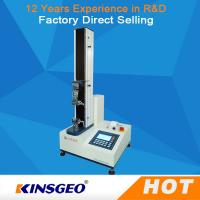 Buy 90 Degree Grips 60kg Tensile Strength Equipment , Universal Material Tester With Peel Adhesion at wholesale prices