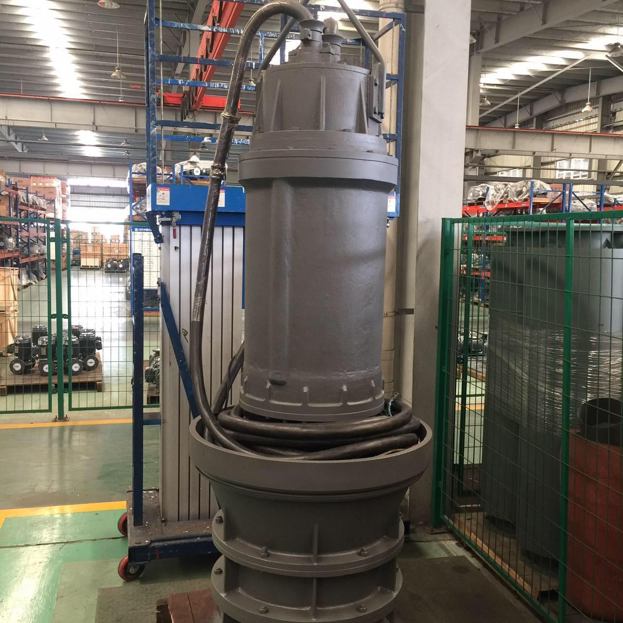 Quality Axial Flow Turbine Submersible Sewage Pump For Waste Water Treatment System for sale