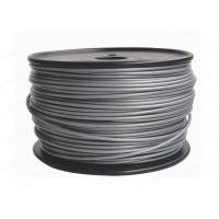Quality Silver Plastic 3D 3MM PLA Filament Printing Material For Reprap 3D Printers for sale