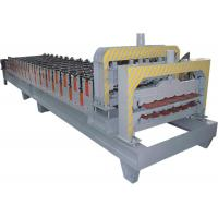 0-12m/Min Sheet Metal Roll Forming Machines Material PPGI , Color Steel , GI