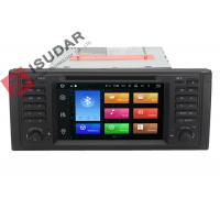 Quality Octa Core Android 6.0 BMW DVD GPS Navigation BMW 5 Series Head Unit 2G RAM 32G ROM for sale