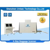 Quality Dual Energy X Ray Luggage Scanner Security Check With Conveyor Max Load 250KG for sale