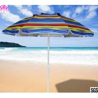 Buy cheap Rio Beach Deluxe 6ft Sun Protection Beach Umbrella with Tilt , Sun Beach from wholesalers