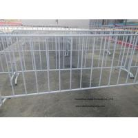 Quality Crowd Control Temporary Backyard Fence For Safety Traffic Management for sale