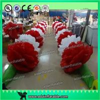 Quality 10m Inflatable Rose Flower Chain For Valentine's Day Event Party Decoration Ada Inflatable for sale