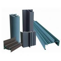 Quality Powder Painted Profile Aluminum Extrusions 6063-T5 / 6060-T5 For Construction for sale