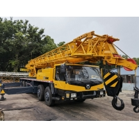 Quality Used Truck Crane XCMG QY50K for sale