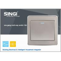 Quality wall switch socket wall  ,  1 gang 2 way  lighting wall switch for sale