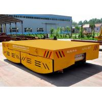 Buy cheap 100 tons crane box girder structure battery operated rail transfer cart China factory from wholesalers