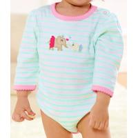 Buy The baby cotton long sleeve spring and autumn neonatal climb clothes baby romper suit at wholesale prices