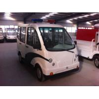 China Four Seat 3 KW Closed Type Street Legal Electric Cart for Campus Security Patrol on sale