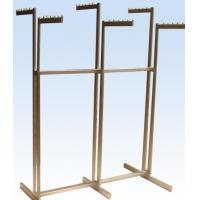 Buy Metal / Wood Customized Color Display Rack Stand Garment Showrooms 600*500 at wholesale prices