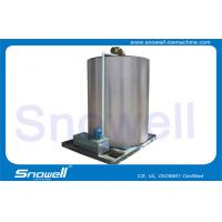 316L 15T/D Commercial Flake Ice Machine Maker Evaporator , Ice Thickness 1.8 - 2.6mm for sale