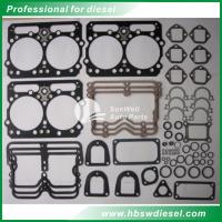 Quality Cummins NT855 Upper gasket sets 3801330   NTA855 Top overhaul gasket set for sale