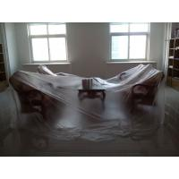 China 6 Mil Polyethylene Plastic Liner Hot Temperature Endurable For Floor Covering on sale